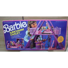 Barbie Suncharm Chalet Mattel rare
