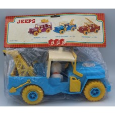 JEEP POLIZIA  BY CRC 1983 NEW MADE IN ITALY