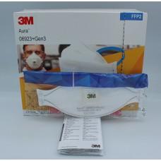 Respirator 3M Aura 06923 + gen 3 facial mask with valve  FFP2