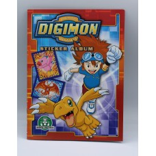 Digimon Digital Monster Sticker album Giochi Preziosi complete