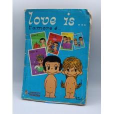 Love is sticker album 1975 Panini