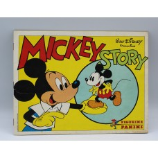 Mickey story 1982 stickers album Panini Walt Disney  complete