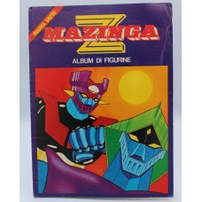 Mazinga Z stickers album with 26 stickers