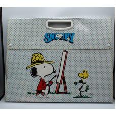 Snoopy Schulz 1965 cartella scuola nuova