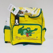 THE CROCODILE RARE BAG SCHOOL VINTAGE NEW 1980 UNIQUE ON THE WEB
