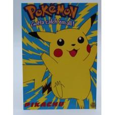 Pokemon Nintendo Postcard new 2000